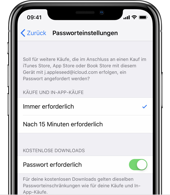 sperrcode iphone se nach kauf