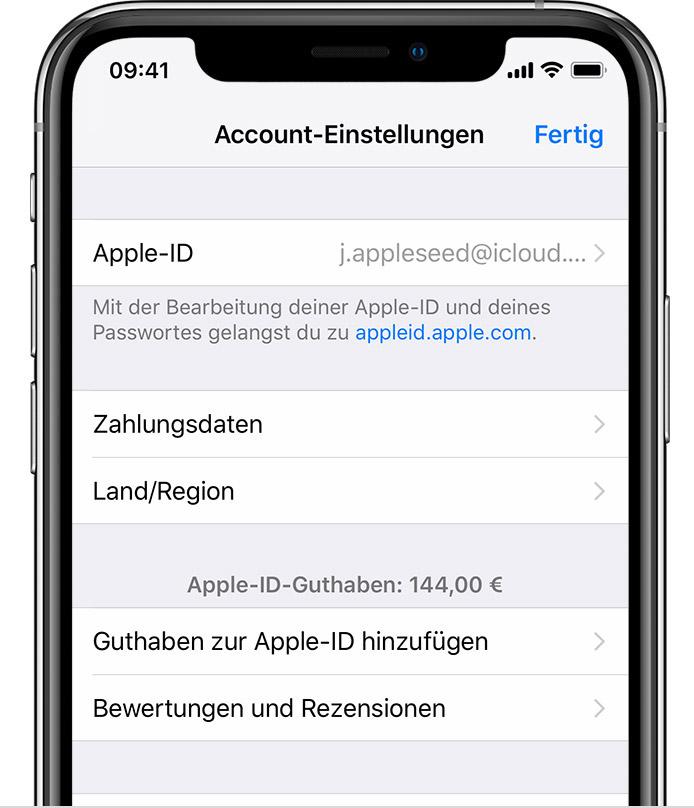 iphone X speicherplatz anzeigen