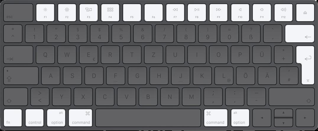 Mac Tastatur Treiber Windows 8
