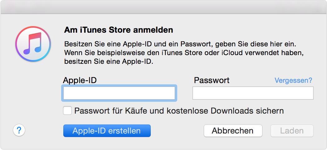 apple id keine zahlungsmethode