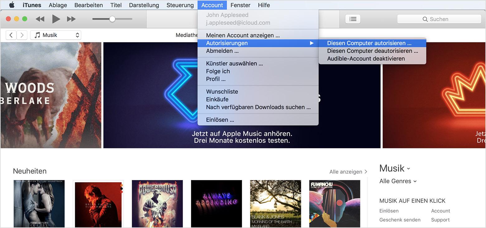 itunes von pc auf mac deutsch