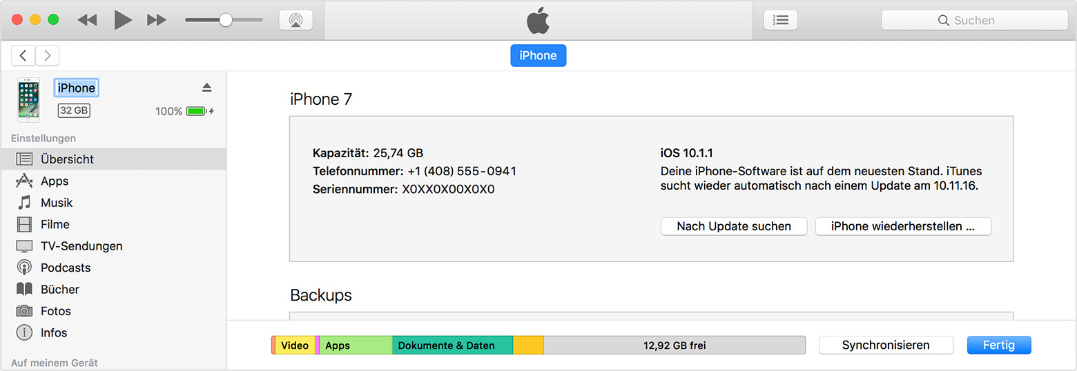 Name Ihres IPhone IPad Oder IPod ändern Apple Support - Minecraft namen andern mac