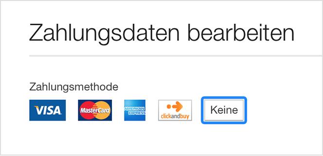 itunes akzeptiert kreditkarte nicht mehr