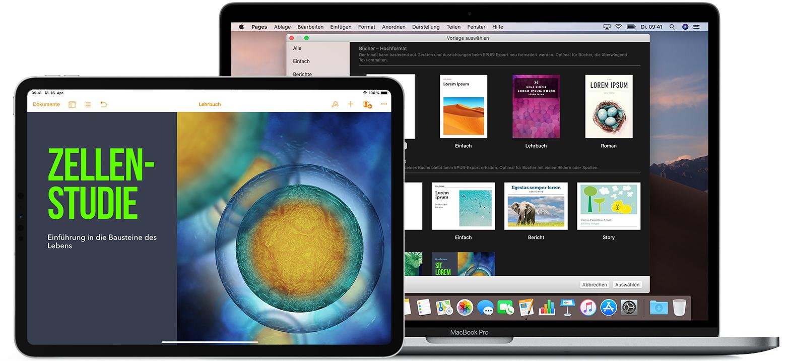 Epub Buch In Pages Erstellen Apple Support