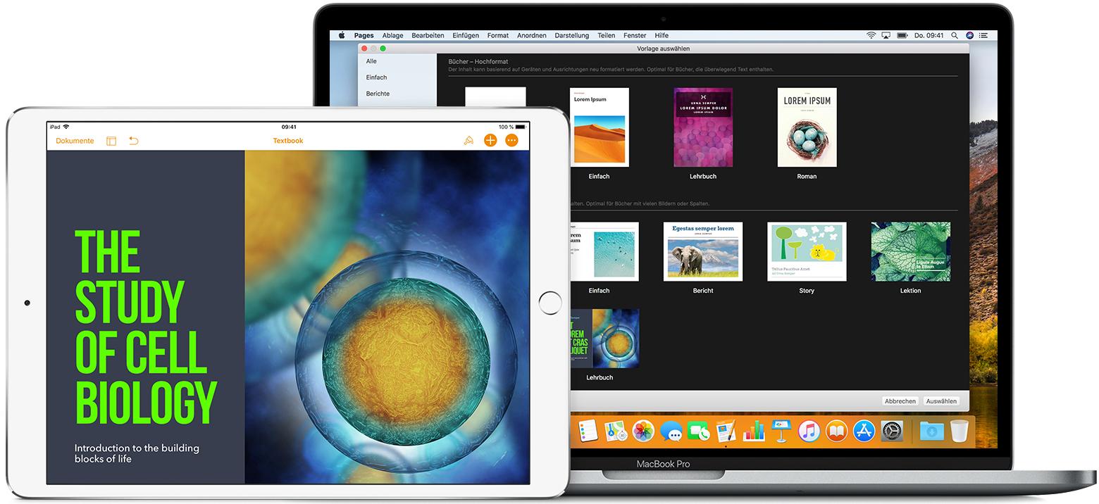 Ein Buch in Pages erstellen - Apple Support
