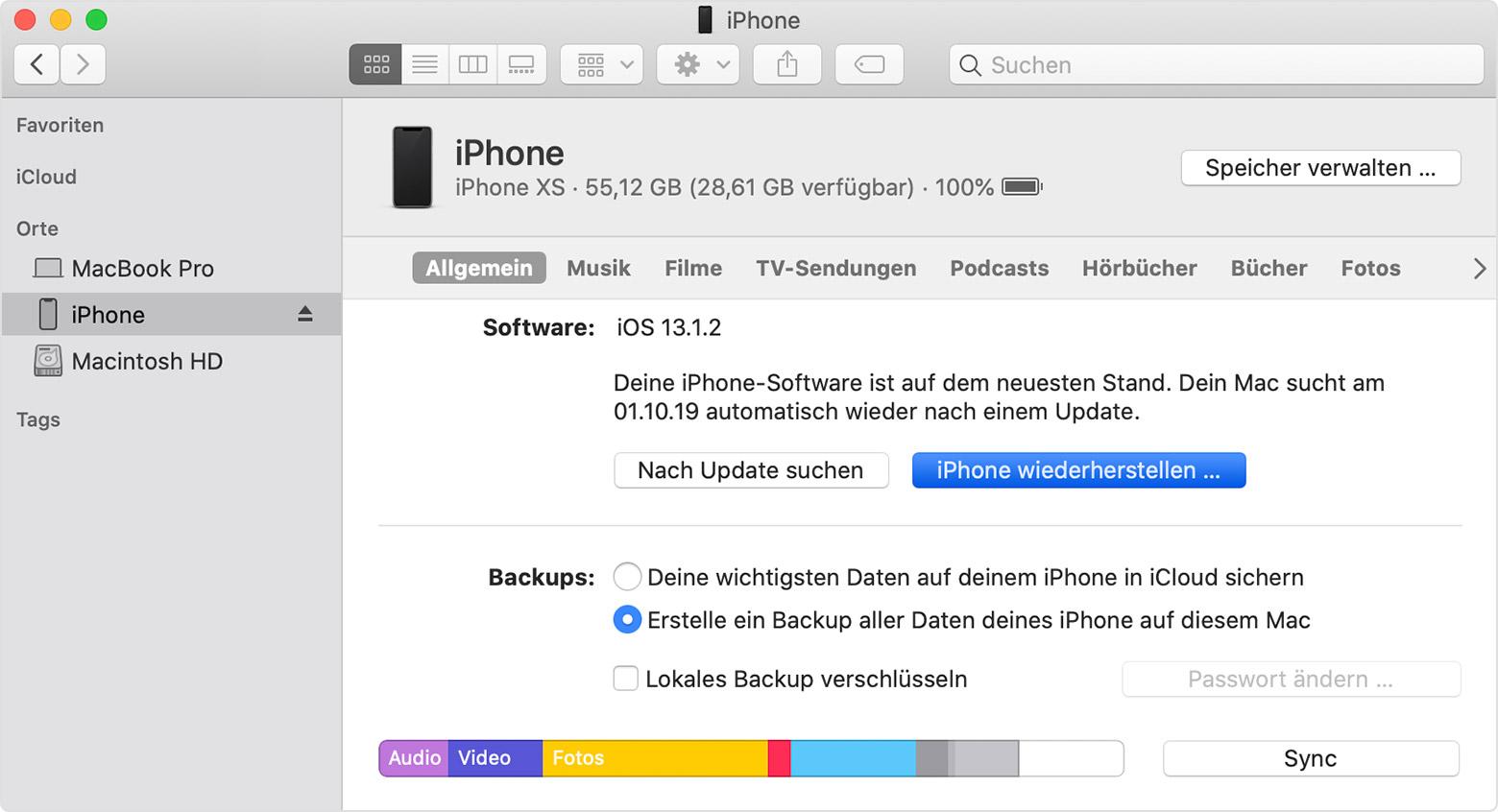 FTOSTREAM VON IPHONE AUF PC FUNKTIONIERT NICHT MEHR