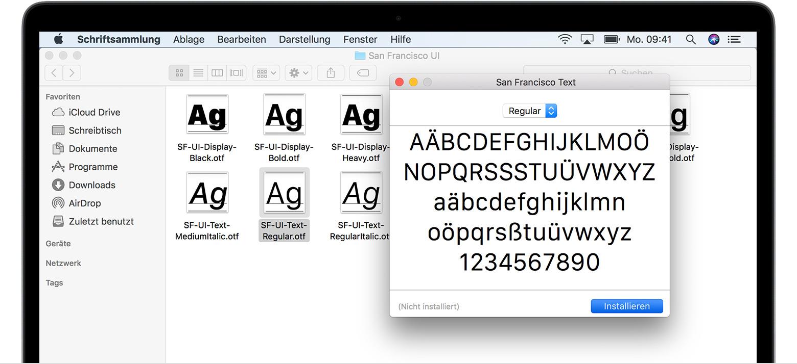 download einstellungen mac