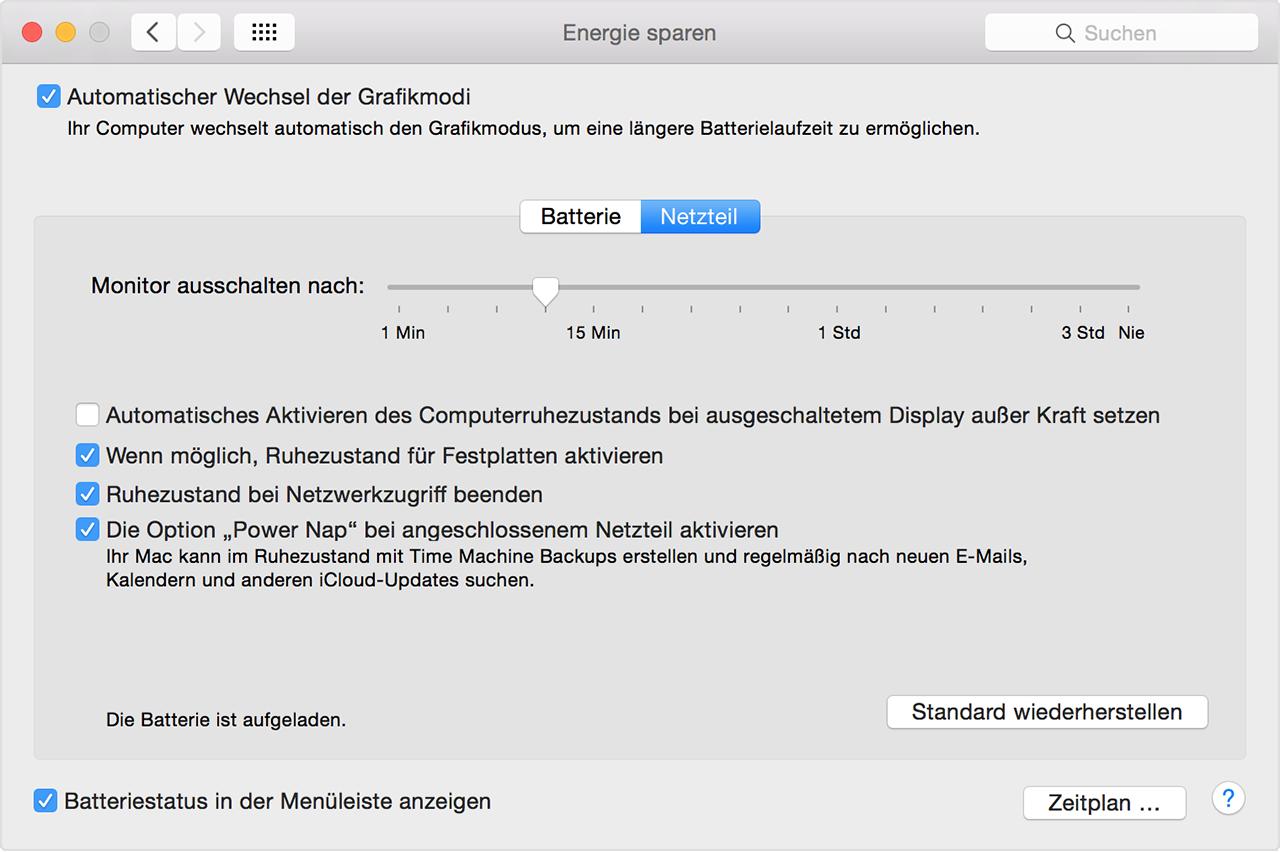 Apple mail schwarzer hintergrund