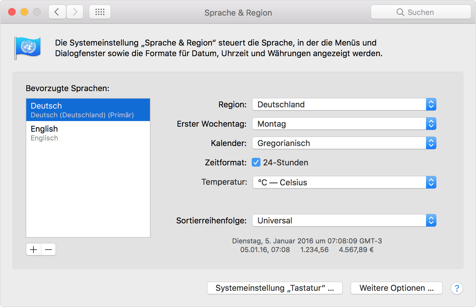 Change the language in iTunes on your PC