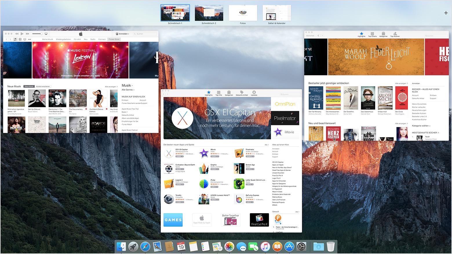 Mission Control Auf Dem Mac Verwenden Apple Support