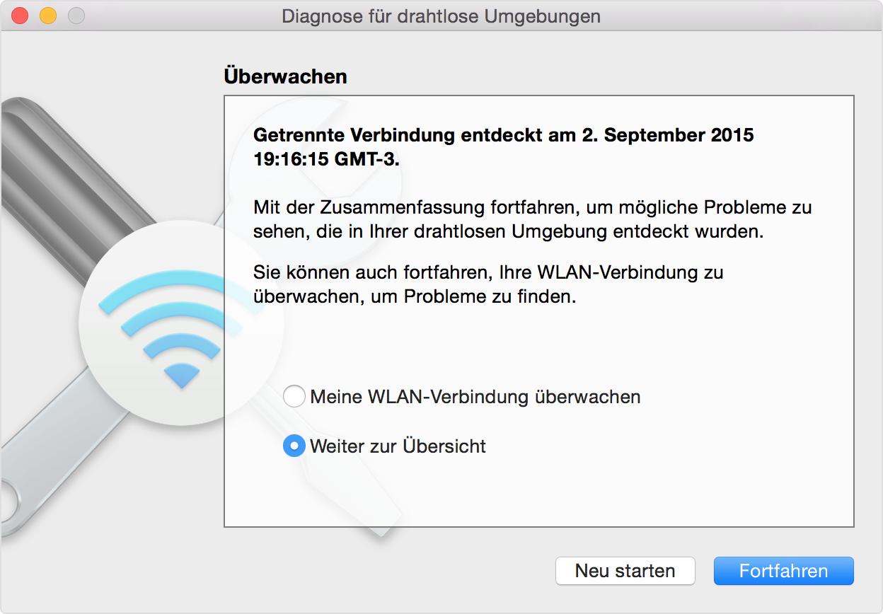 WLAN-Probleme auf dem Mac ermitteln - Apple Support
