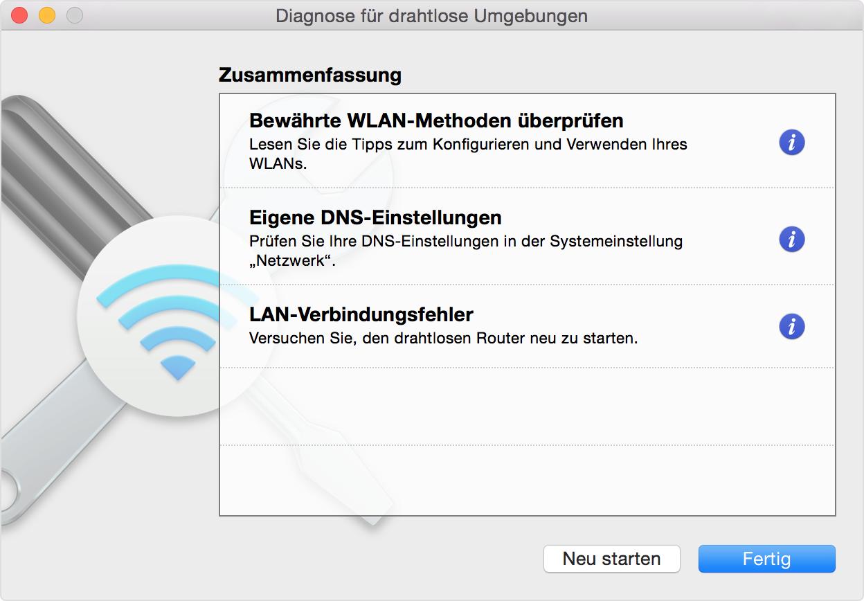 Wlan Probleme Auf Dem Mac Ermitteln Apple Support