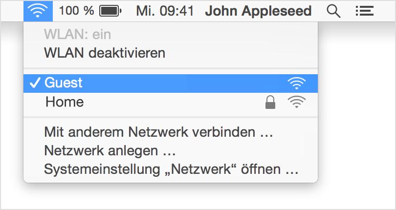 WLAN-Verbindung auf Ihrem Mac verwalten - Apple Support