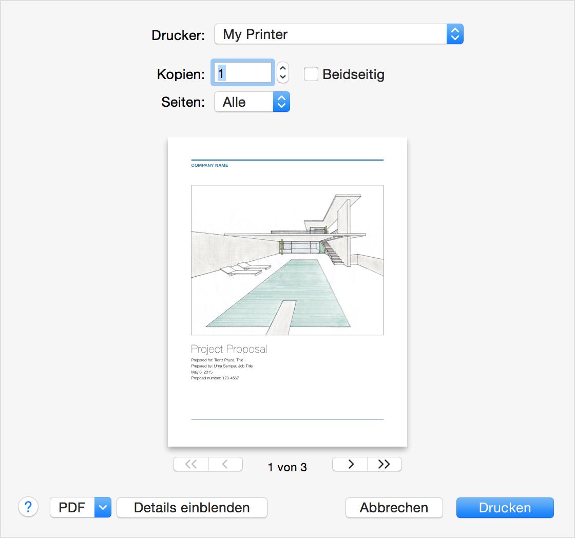 Von Ihrem Mac drucken - Apple Support