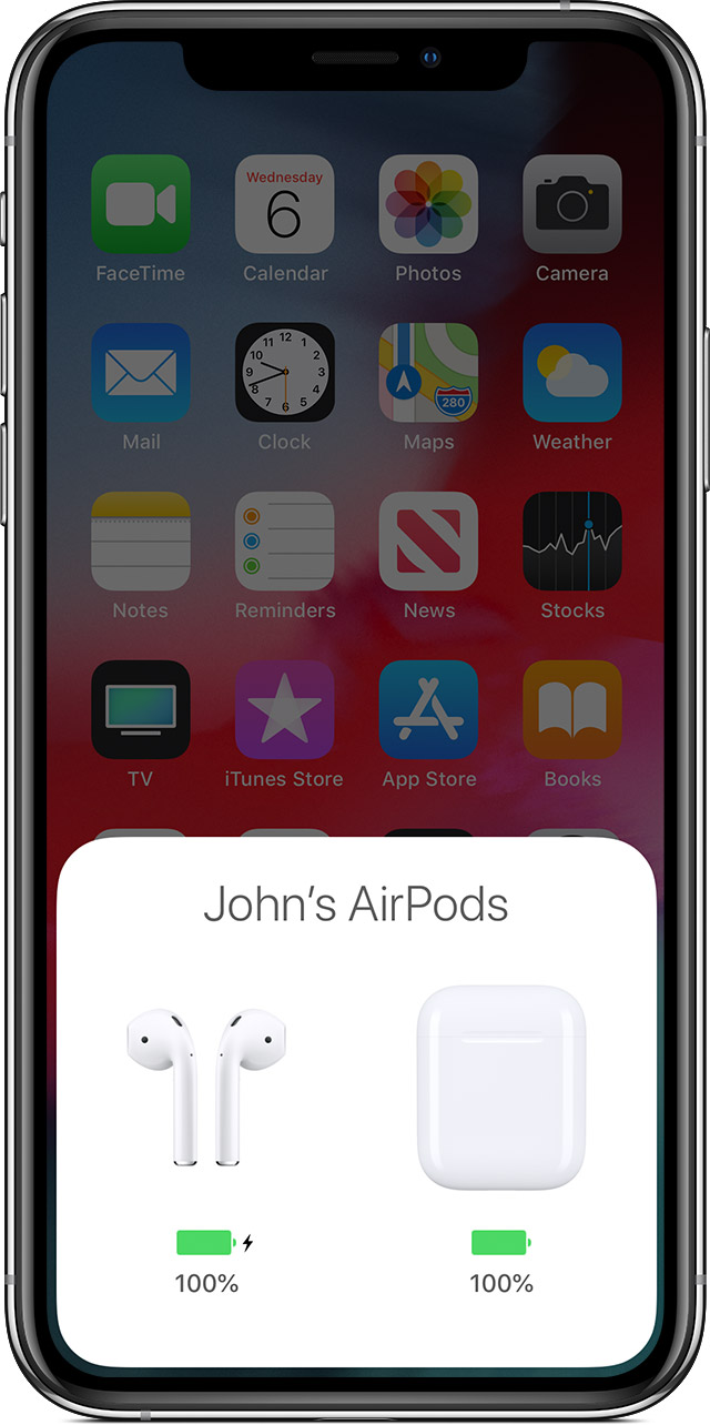 huge discount 52344 adfa8 Charge your AirPods with charging case and learn about battery life ...
