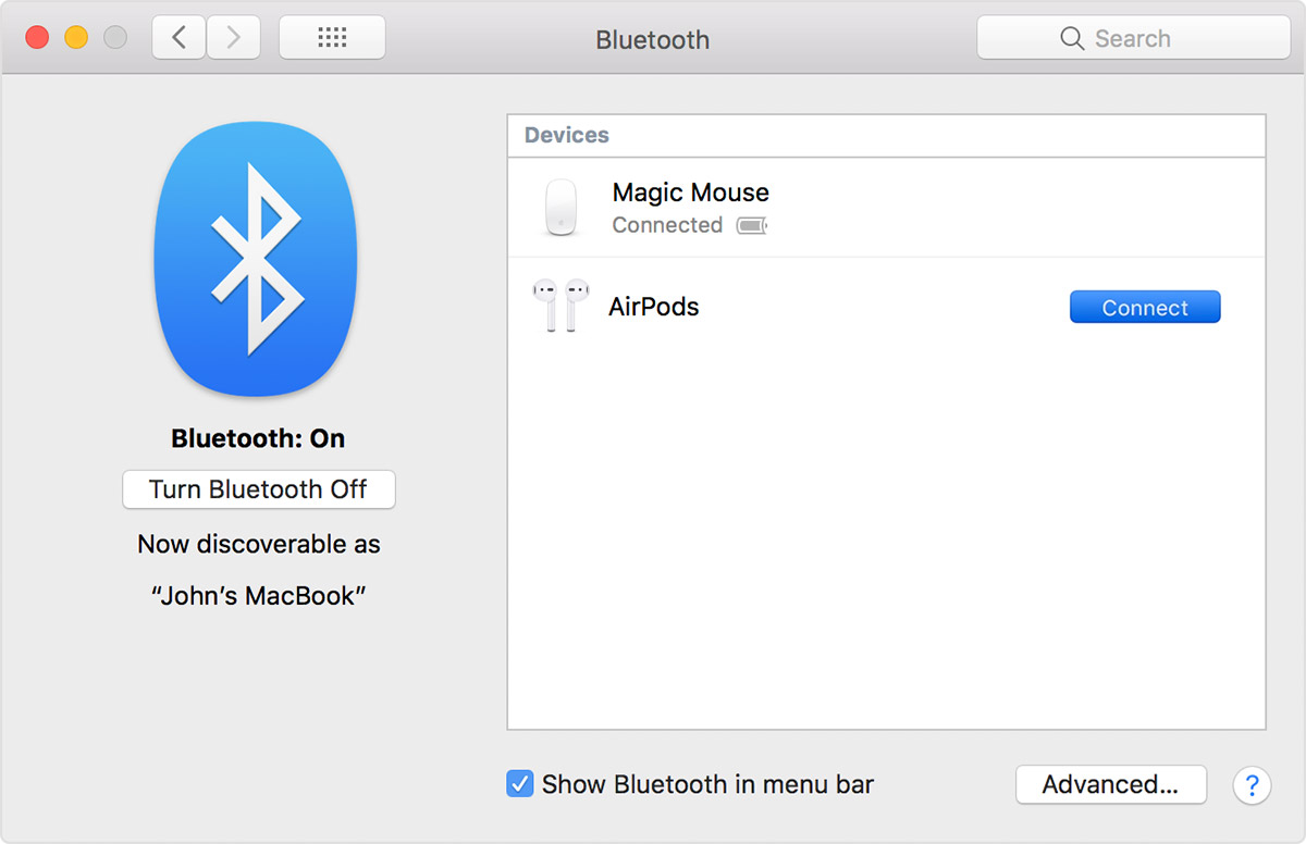 how to install bluetooth on macbook air