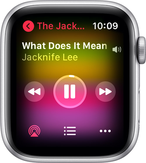 Apple Watch AirPlay icon