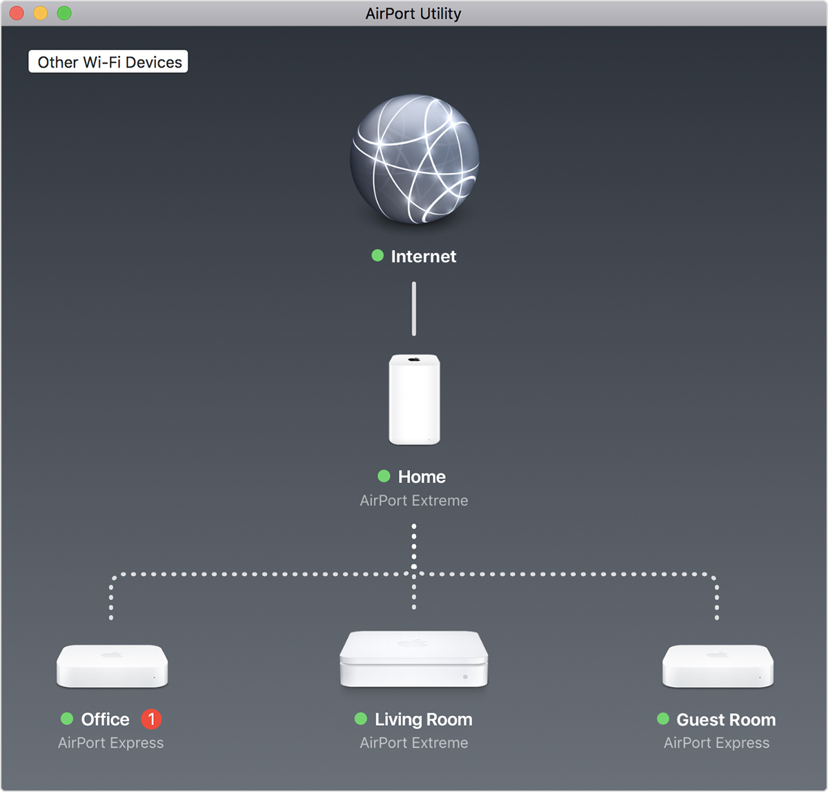 Hook up speakers to airport extreme