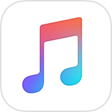 the Apple Music iOS app icon