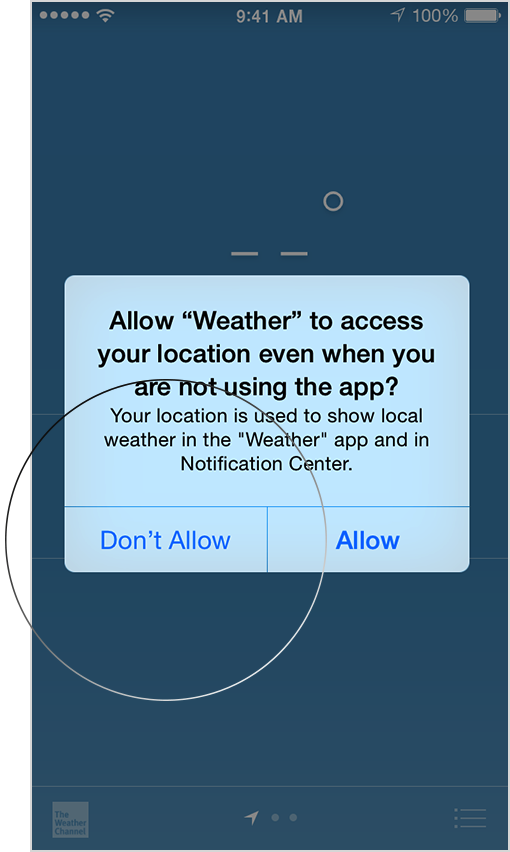 If You Would Like To Reset All Of Your Location Settings To The Factory Default Go To Settings General Reset And Tap Reset Location Privacy