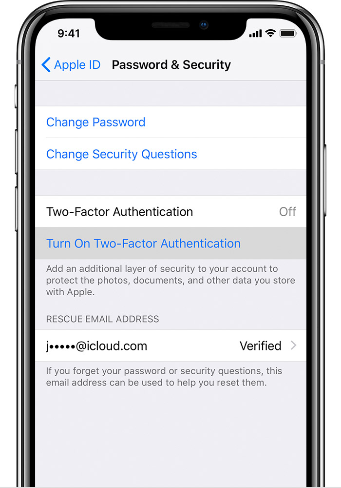 L'iPhone salva le password per te