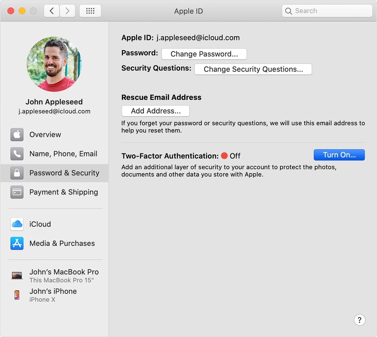 Two factor authentication for Apple ID – Apple Support
