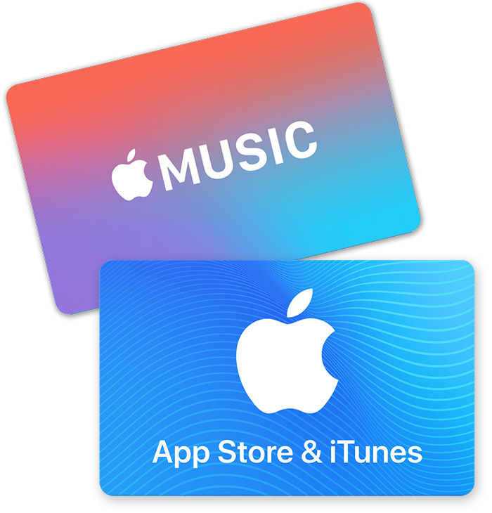 Redeem App Store Itunes Gift Cards Apple Music Gift Cards And