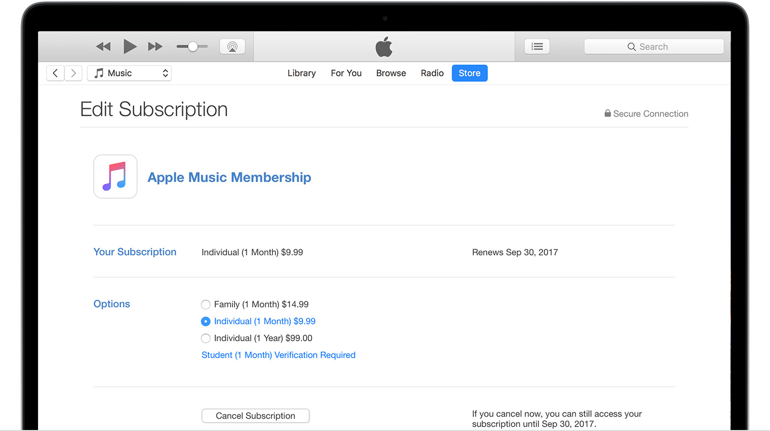 Itunes radio subscription