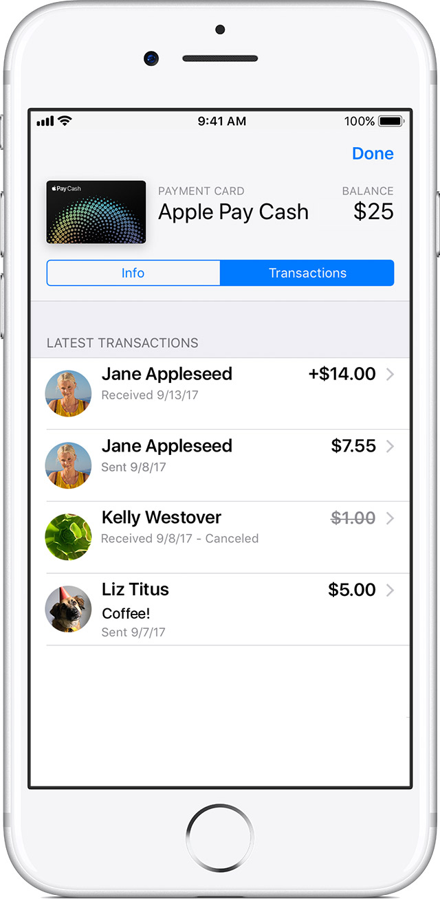 Transfer money from Apple Cash to your debit card or bank ...