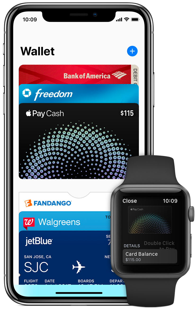 Wallet and Apple Pay Cash
