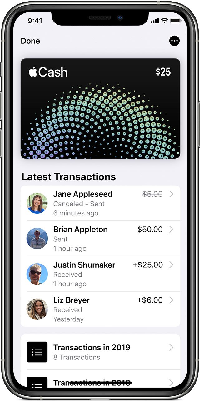 Send and receive money with Apple Pay - Apple Support