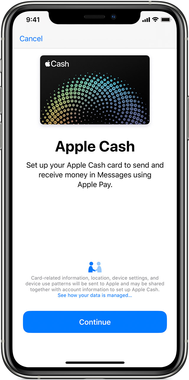 How to set up Apple Cash
