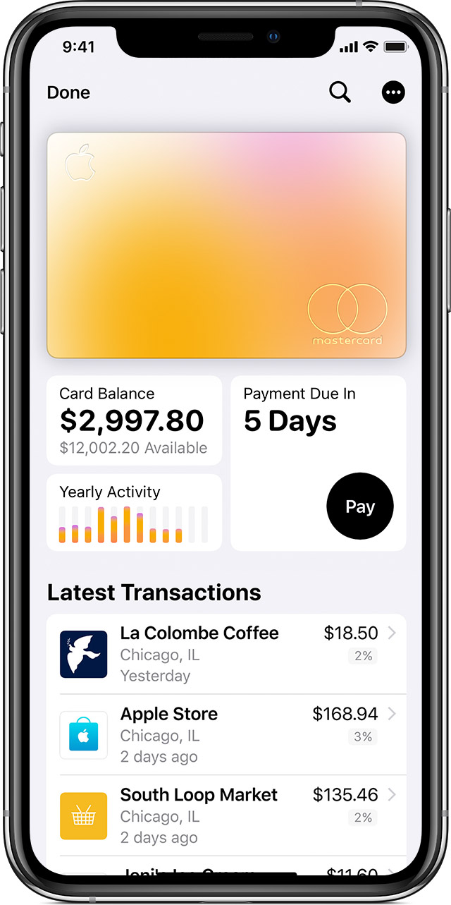 Check your Card Balance for Apple Card in the Wallet app