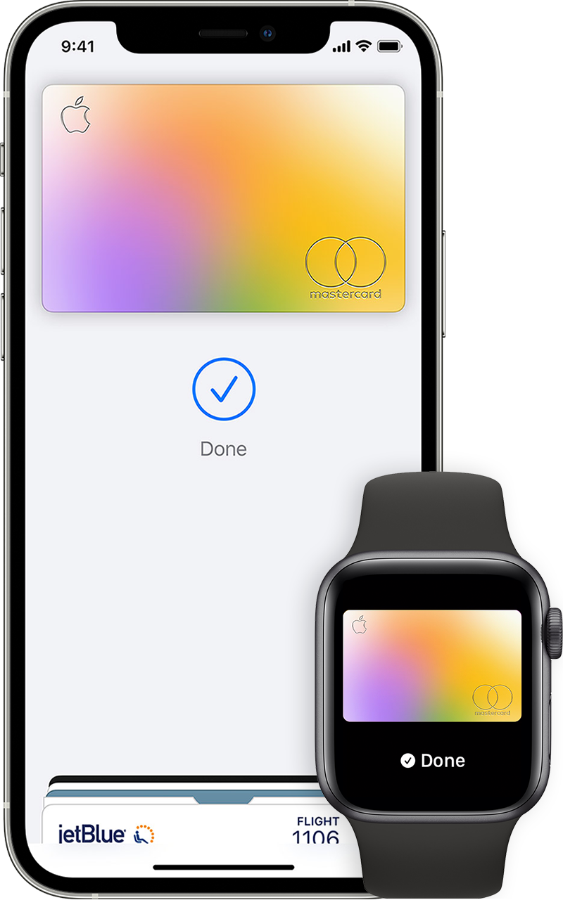 Здійснення покупок за допомогою Apple Pay на iPhone або Apple Watch