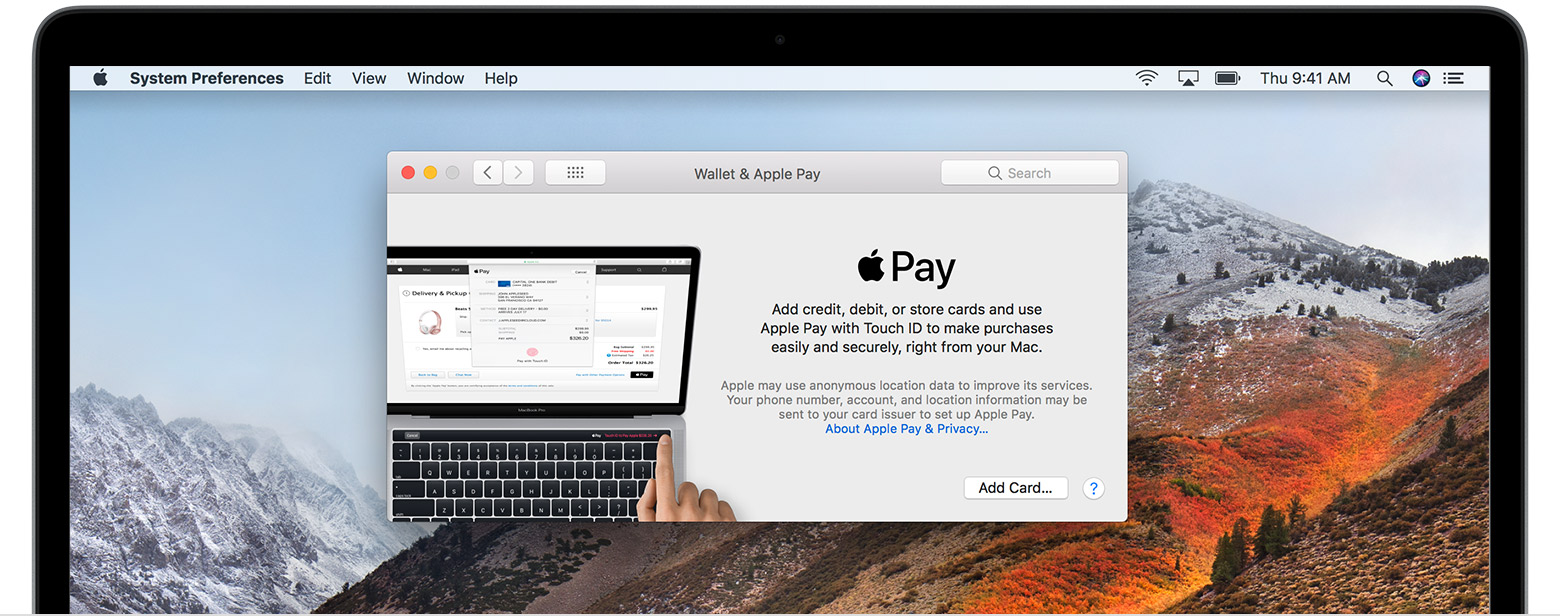how to use touch id with apple pay