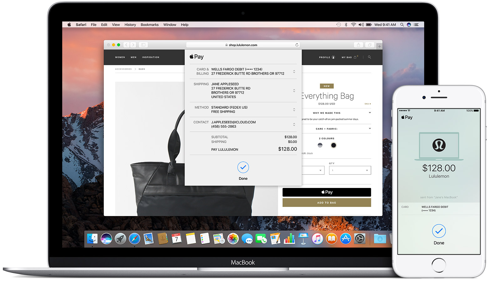 Using Apple Pay In Stores, And Within Apps And Websites