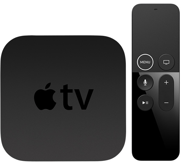 modelo 4 da apple tv