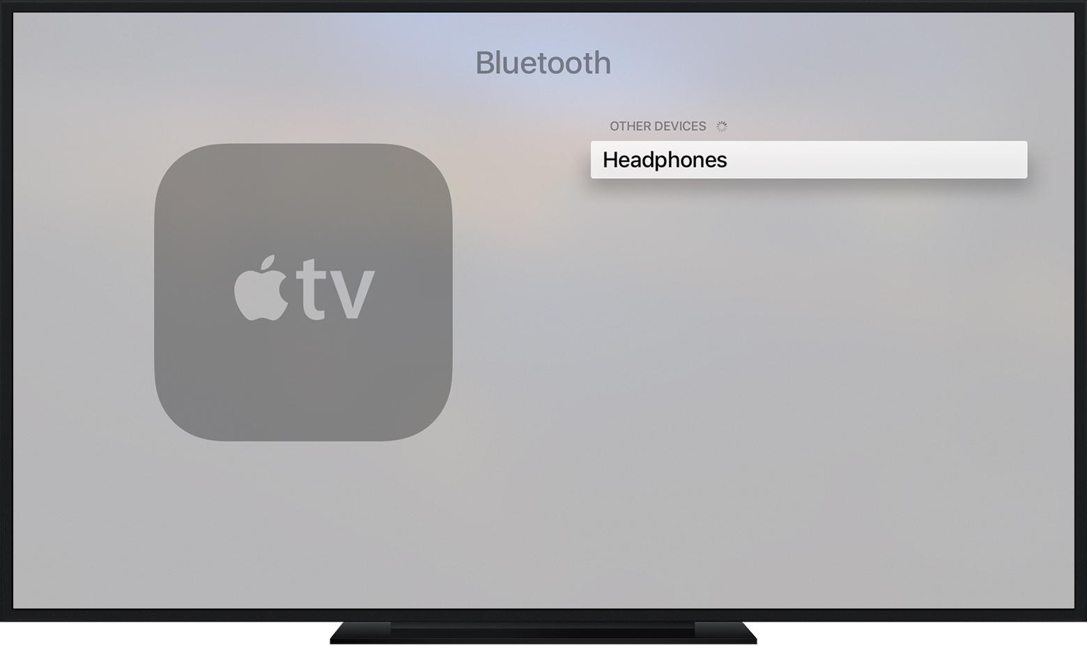 On Your Apple Tv, Go To Settings > Remotes And Devices > Bluetooth Your  Apple Tv Will Search For Nearby Bluetooth Accessories