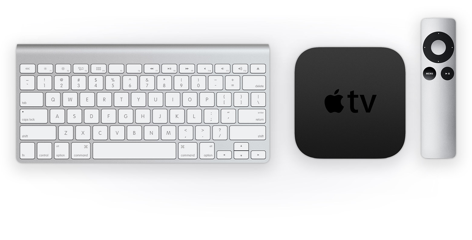 Pair a wireless keyboard with your Apple TV