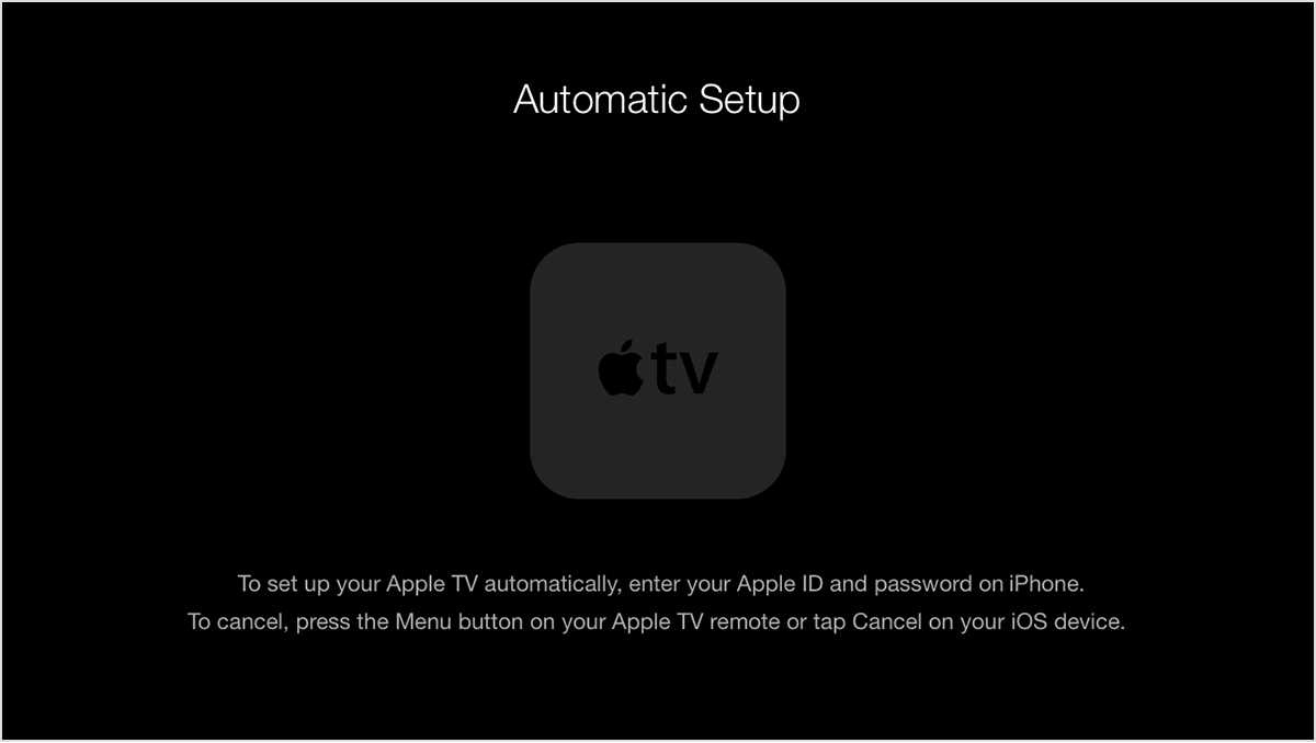reset apple tv without remote