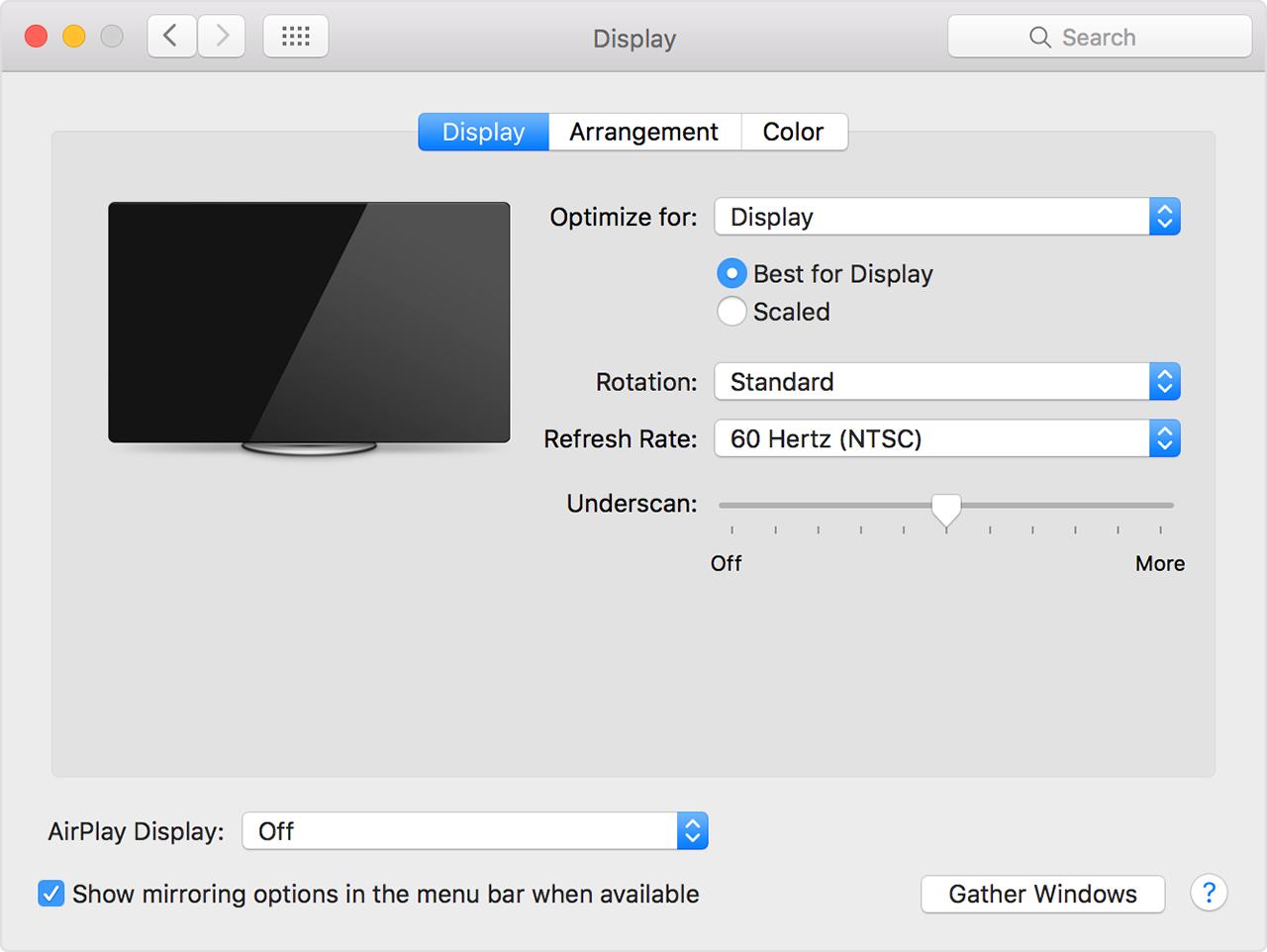 mac презентация на внешний монитор