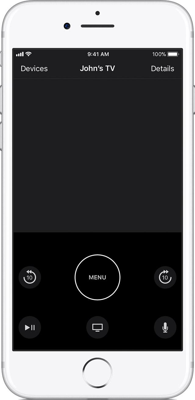 Use The Apple TV Remote App