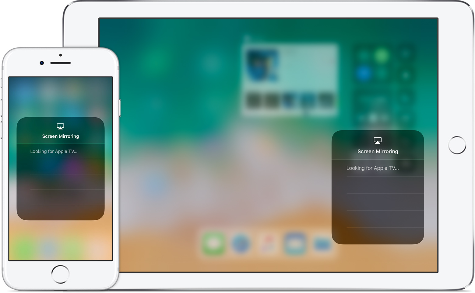 Get help with airplay and airplay mirroring on your iphone for Mirror iphone to tv