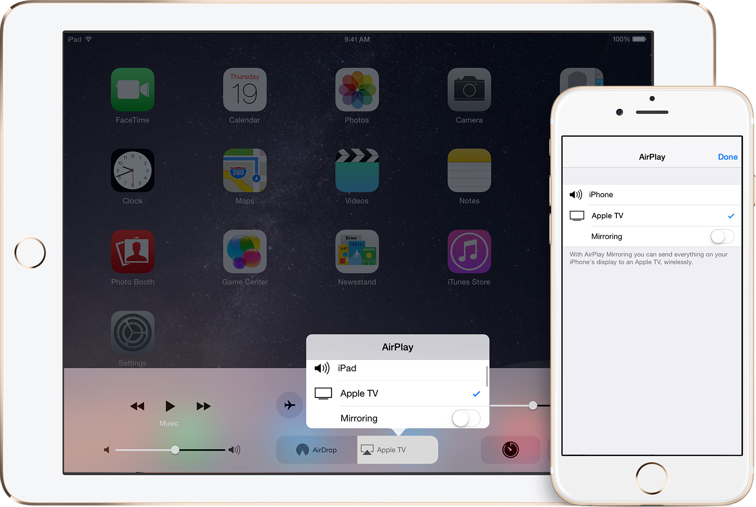 WHAT CAN YOU AIRPLAY TO APPLE TV