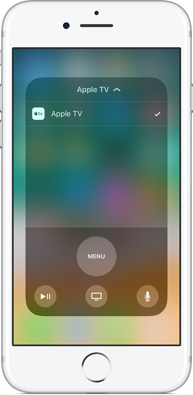Set Up The Apple TV Remote App