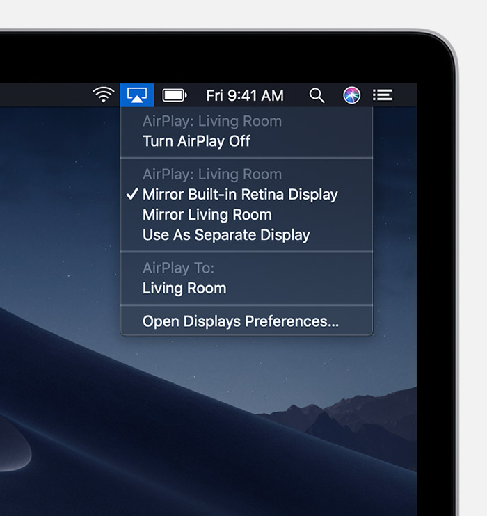 How to AirPlay video and mirror your device's screen - Apple Support