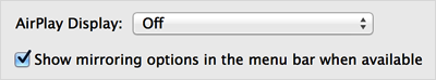 Mavericks preferences