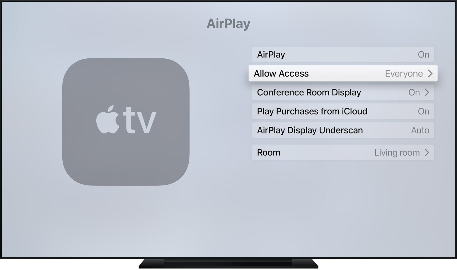 share mac mini with apple tv