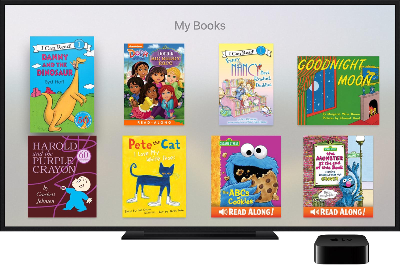 Приложение для чтения книг apple