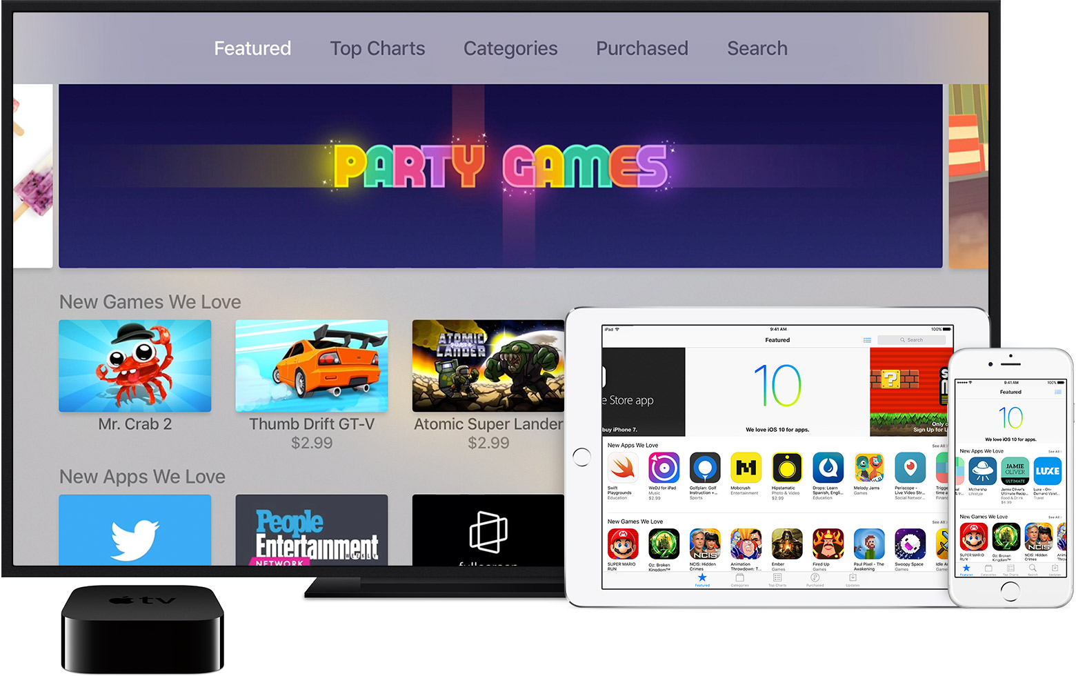 Use The App Store On Your Ios Devices, Apple Tv, Orputer  Apple Support
